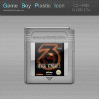 Game Boy Plastic Cartridge Icon by blinkybill