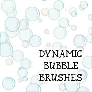 Dynamic Bubble Brushes by merrypranxter