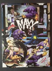 The Maxx: Maxxed Out Comic Collage IDW Publishing by HPComicCollages