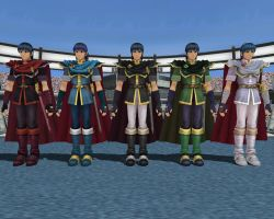 MMD - Marth Colors Ver. 01 by Rouzel