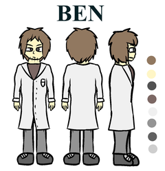 Ben reference drawing by MarcosVargas