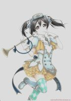 Yazawa Nico - Love Live! by Andy-chanWantToDraw