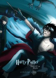 Harry Potter an the Cup of Hot by Go-Devil-Dante