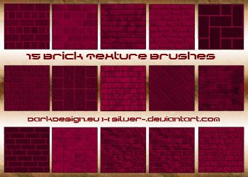 Brick Texture Brushes by silver-