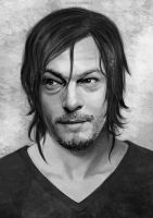 -Norman reedus- by obsceneblue