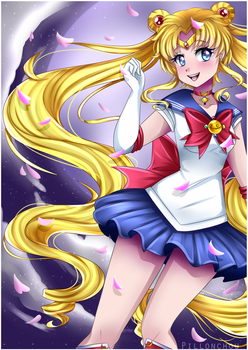 Sailor Moon by Pillonchou