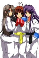 CLANNAD-Kickboxing Story by g10w