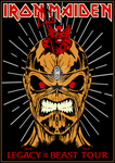 Iron Maiden - Legacy of the Beast Tour 18-19 by croatian-crusader