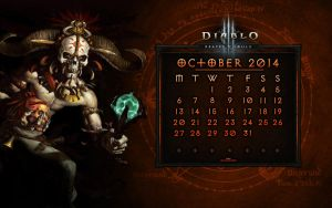 Calendar #5: October 2014 - EU Style by Holyknight3000