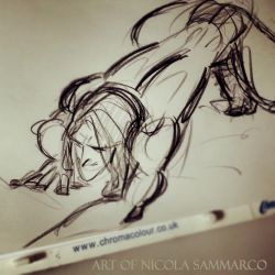 Rapid sketch of Tarzan (without reference) by nicolasammarco