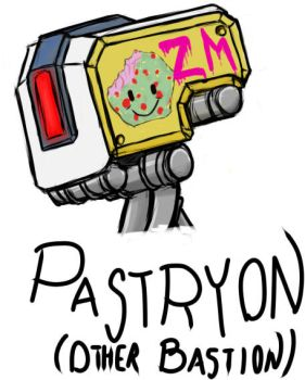 Pastryon (Other? Bastion) by DFroGGotten1