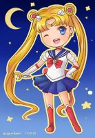 Chibi Sailor Moon by kariavalon