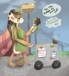 Mod Mess - About to make a mess of Dill... by RascalWabbit