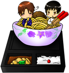 Japan and Italy Pasta Box Redo by Septic-Kitty