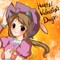 Happy Valentine's Day by konoesuzumiya