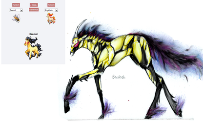 Beedash {Pokemon Fusion 2} by Raven97