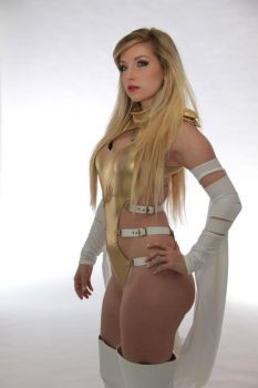 Natural Emma Frost by CosplayButterfly