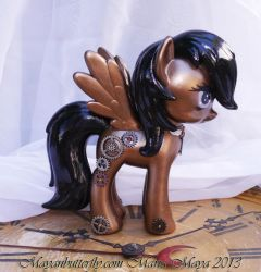 Steam Punk Custom FiM My Little Pony by mayanbutterfly