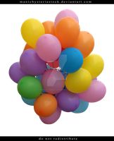 Balloons by ManicHysteriaStock