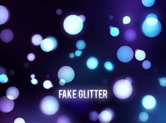 Fake Glitter by cacaborges