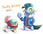 Happy birthday to the wooper by ColorsAreAwesome