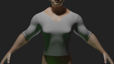 Growth shirt test (video in description) by LordDaroth
