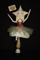 Christmas Joy Star Doll by 2truecreatives