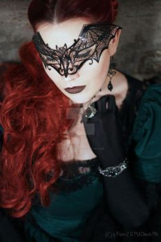 Lady Vampir on Masquerade by MADmoiselleMeli