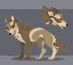 Wolf (OTA CLOSED) by Lidelman