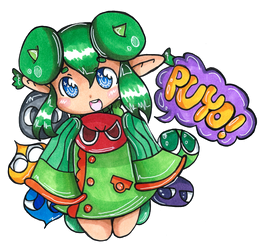 Puyo Puyo - Ridell Pop Fever by Imimi-Ai