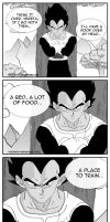 Vegeta thinking about the proposal by touche1114
