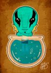 Abe Sapien by BrainBlueArts