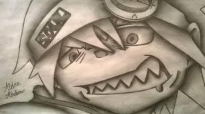 Drawing #46 Soul - Soul Eater by AidanJA