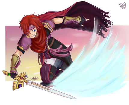 Roy - Super Smash Bros. by thekawaiione