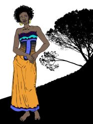 African woman by Tark3355