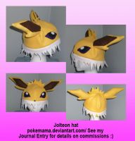 Jolteon hat by PokeMama