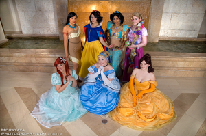 Disney Princesses by CosplayCousins