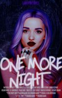 One More Night||Wattpad Cover|| by DaisyChan55