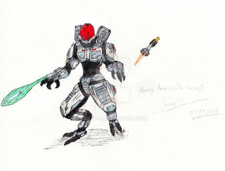 Heavy Aero Pirate - Metroid by MBT808
