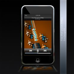 free psd ipod touch by 3DEricDesign