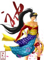 Japanese Wonder Woman by the-newKid