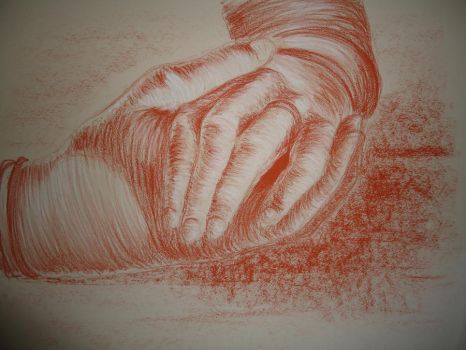 Hand Study by CazzyRose