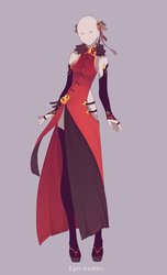 Custom outfit commission 84 by Epic-Soldier