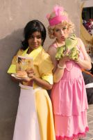 Tiana and Lotti Cosplay by MyriamMcFly