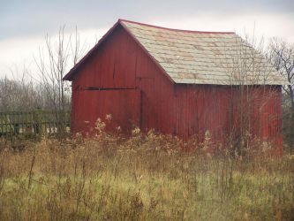 The Red Barn by MMistress-Stock