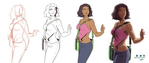 School Day Redraw Process by DanielHooker