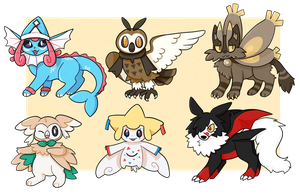 Pokemon Fusion Adopts [Closed]