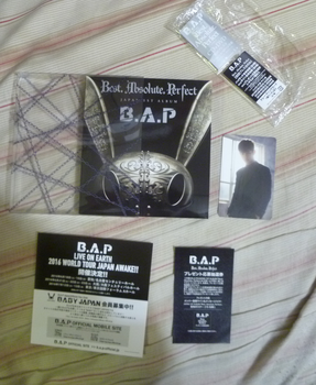 B.A.P - Best.Absolute.Perfect (CD/DVD (Japanese) by Kokoro-Hane