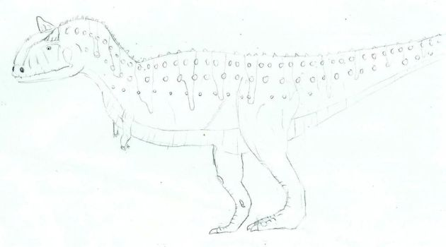 Carnotaurus by dino-mad
