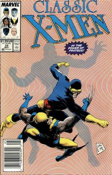 Classic X-Men #33 by derrickthebarbaric